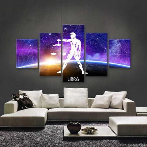 HD PRINTED LIMITED EDITION ZODIAC SIGN LIBRA CANVAS (ZSIGN310013)