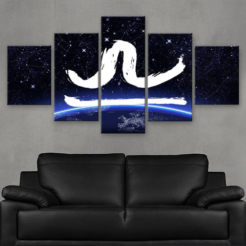 HD PRINTED LIMITED EDITION ZODIAC SIGN LIBRA CANVAS (ZSIGN310014)
