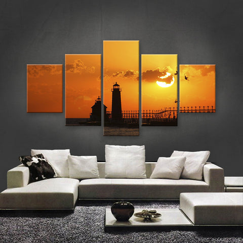 HD PRINTED LIMITED EDITION SUNSET CANVAS (STC159006)