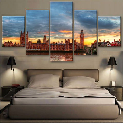 HD PRINTED LIMITED EDITION SKYLINE CANVAS (155003)