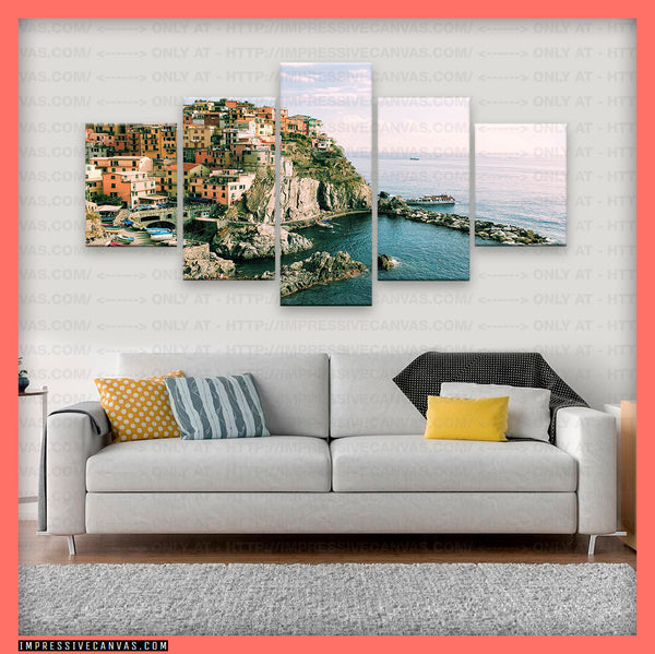 HD PRINTED LIMITED EDITION MANAROLA, ITALY CANVAS (MNRLA0815003)