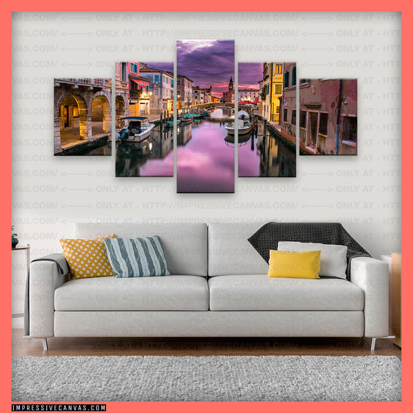 HD PRINTED LIMITED EDITION METROPOLITAN CITY OF VENICE, ITALY CANVAS (MCOVIA0815005)