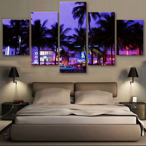 HD PRINTED LIMITED EDITION SKYLINE CANVAS (155004)