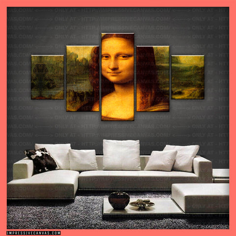 HD PRINTED LIMITED EDITION MONA LISA CANVAS (ARTCA150007)