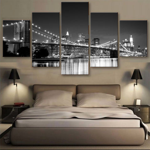 HD PRINTED LIMITED EDITION BROOKLYN BRIDGE, NEW YORK CANVAS (155005)