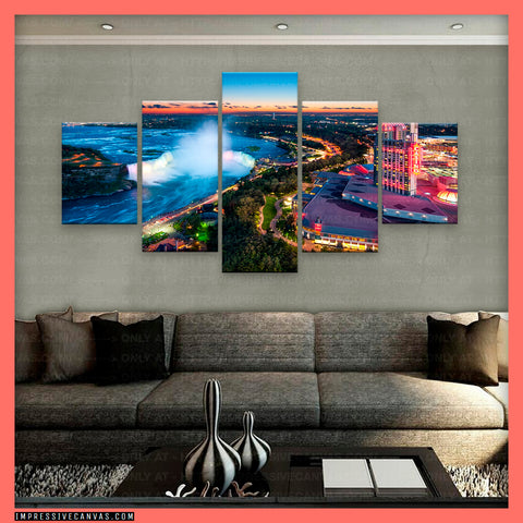 HD PRINTED LIMITED EDITION NIAGARA FALLS, CANADA CANVAS (NIAGRA620003)