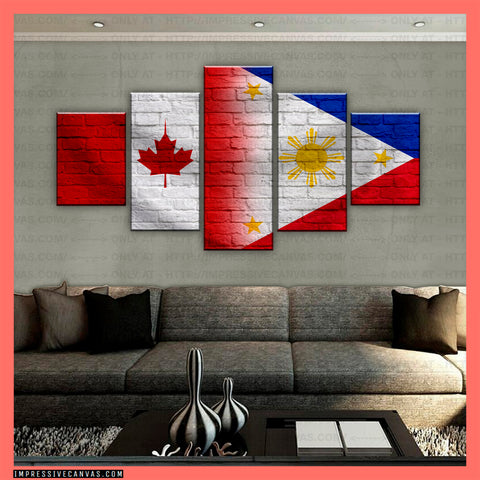 HD PRINTED LIMITED EDITION CANADIAN - FILIPINO (PHILIPPINES) CANVAS (CANPH210018)