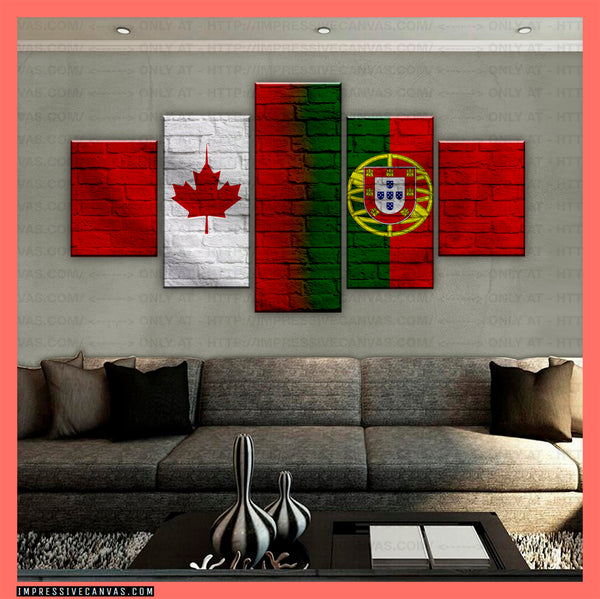 HD PRINTED LIMITED EDITION CANADIAN - PORTUGUESE (PORTUGAL) CANVAS (CANPT210019)