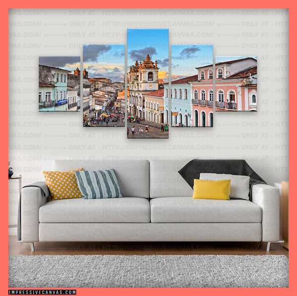 HD PRINTED LIMITED EDITION PELOURINHO, SALVADOR, BRAZIL CANVAS (SLVADR840002)