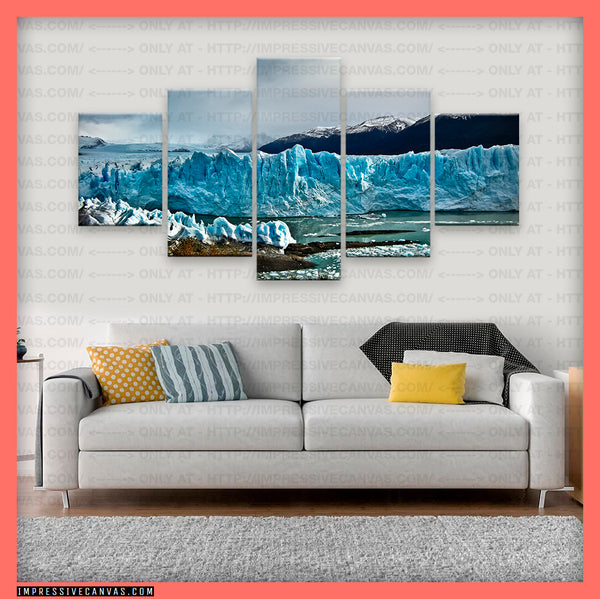 HD PRINTED LIMITED EDITION PERITO MORENO GLACIER, ARGENTINA CANVAS (PRTMRN740002)