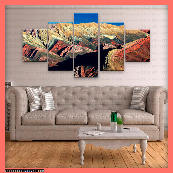 HD PRINTED LIMITED EDITION QUEBRADA DE HUMAHUACA, ARGENTINA CANVAS (QUEBRADA740003A)