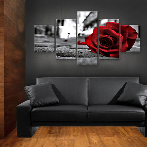 HD PRINTED LIMITED EDITION FLOWER CANVAS (FWC155023)