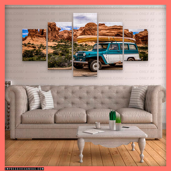 HD PRINTED LIMITED EDITION VINTAGE CAR CANVAS (VCARS960003)