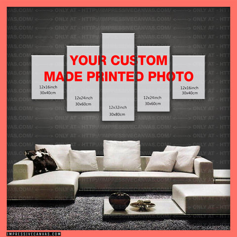 HD PRINTED LIMITED EDITION CUSTOM MADE CANVAS (CUSTOMCANVAS999)