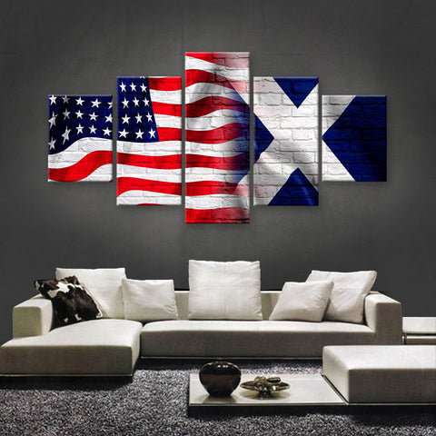 HD PRINTED LIMITED EDITION AMERICAN - SCOTTISH (SCOTLAND) CANVAS (AMSC15014)
