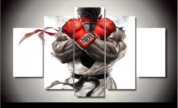 HD PRINTED LIMITED EDITION MARTIAL ARTS FIGHTER CANVAS (MAF158001)
