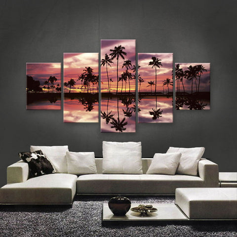 HD PRINTED LIMITED EDITION SUNSET CANVAS (STC159001)