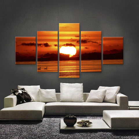 HD PRINTED LIMITED EDITION SUNSET CANVAS (STC159010)