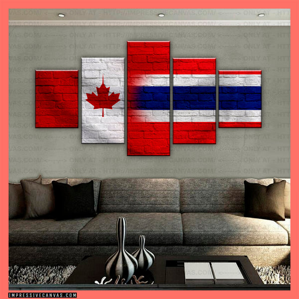 HD PRINTED LIMITED EDITION CANADIAN - THAI (THAILAND) CANVAS (CANTHR210023)
