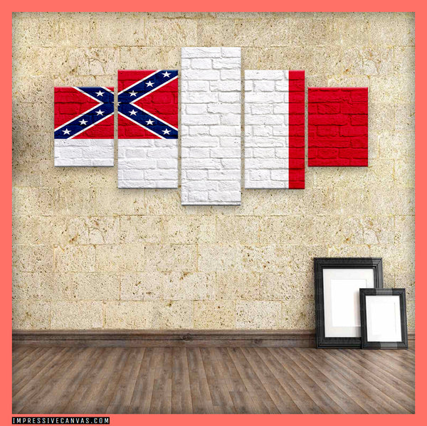 HD PRINTED LIMITED EDITION THIRD BATTLE FLAG CANVAS (3BTTLE11211904)