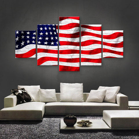 HD PRINTED LIMITED EDITION AMERICAN FLAG CANVAS (AMC15016)