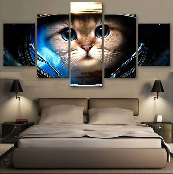 HD PRINTED LIMITED EDITION CATS CANVAS (156010)