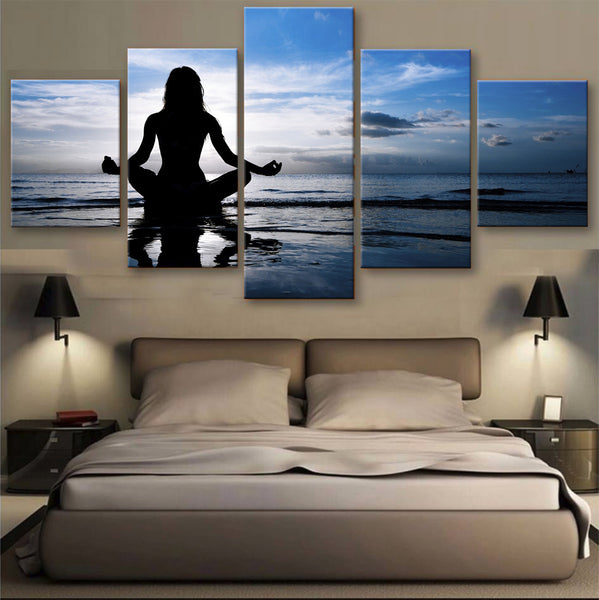 HD PRINTED LIMITED EDITION MEDITATION CANVAS (153004)
