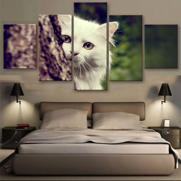 HD PRINTED LIMITED EDITION CATS CANVAS (156006)