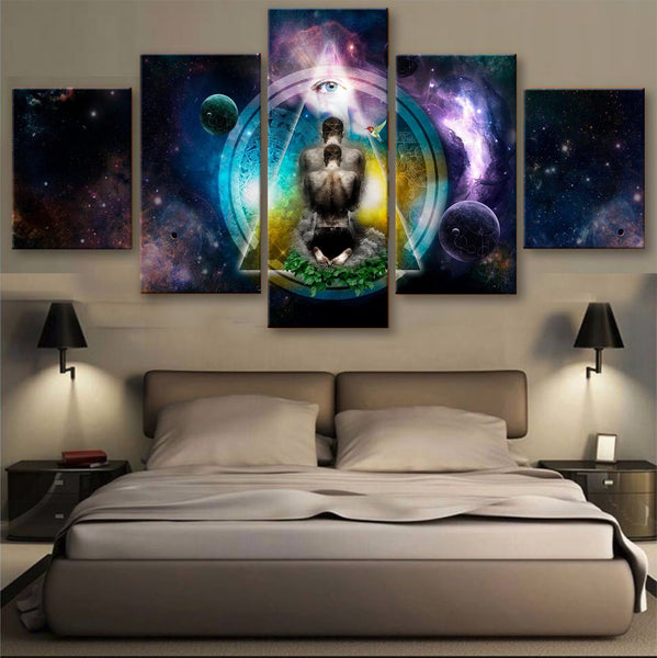 HD PRINTED LIMITED EDITION MEDITATION CANVAS (153002)