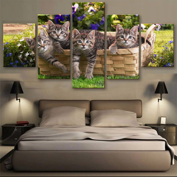 HD PRINTED LIMITED EDITION CATS CANVAS (156008)