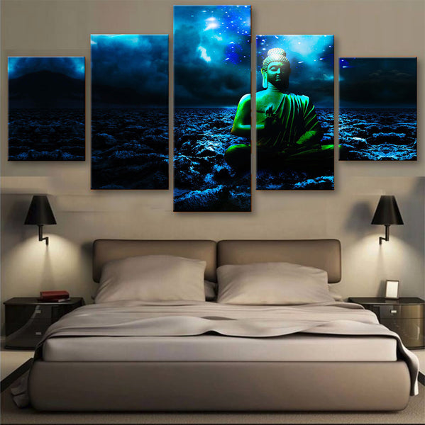 HD PRINTED LIMITED EDITION MEDITATION CANVAS (153003)