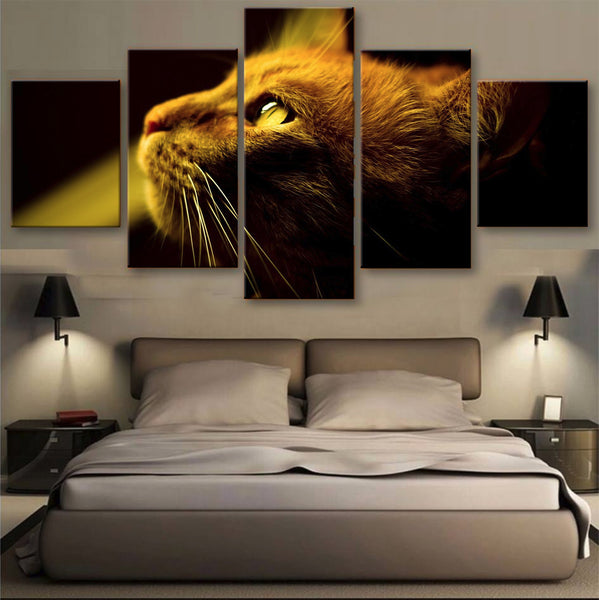 HD PRINTED LIMITED EDITION CATS CANVAS (156001)