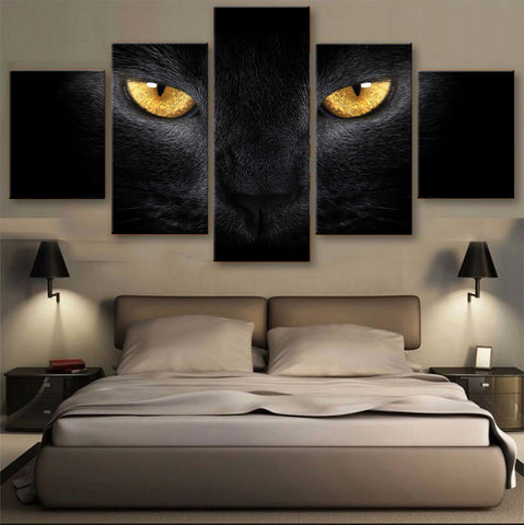 HD PRINTED LIMITED EDITION CATS CANVAS (156007)