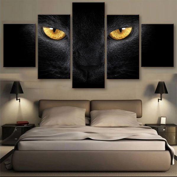 HD PRINTED LIMITED EDITION CATS CANVAS (156005)
