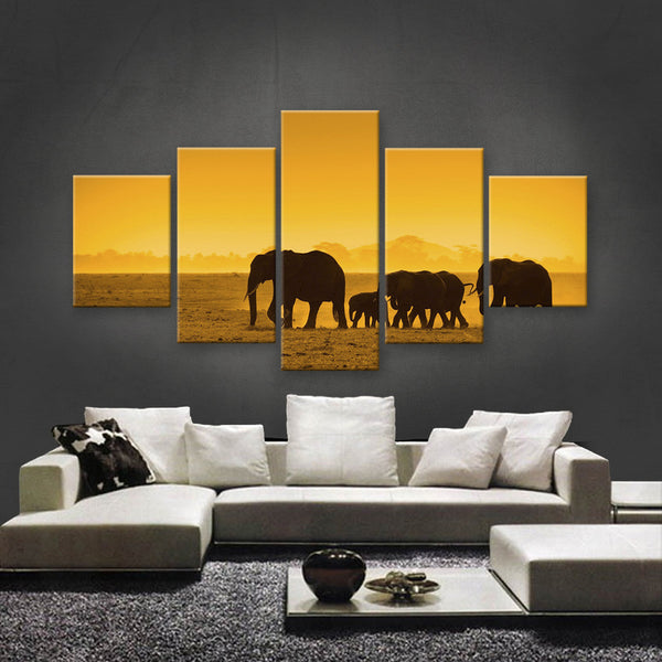 HD PRINTED LIMITED EDITION WILDLIFE CANVAS (WLC159004)