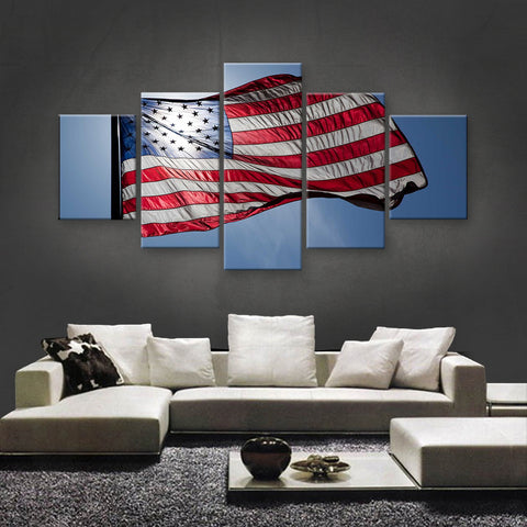 HD PRINTED LIMITED EDITION AMERICAN FLAG CANVAS (AMC15020)