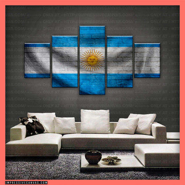HD PRINTED LIMITED EDITION - ARGENTINE (ARGENTINA) FLAG CANVAS (FLAG150073)