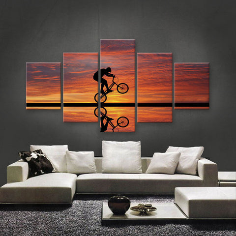 HD PRINTED LIMITED EDITION SUNSET CANVAS (STC159005)