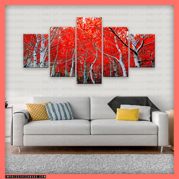 HD PRINTED LIMITED EDITION BIRCH TREE CANVAS (BRCH3950001A)