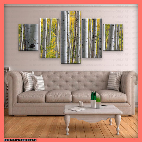 HD PRINTED LIMITED EDITION BIRCH TREE CANVAS (BRCH3950001)
