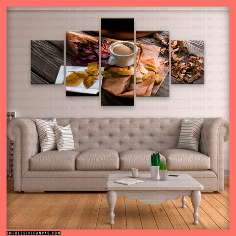 HD PRINTED LIMITED EDITION COFFEE LOVERS CANVAS (COFFEE1434401)