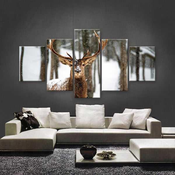 HD PRINTED LIMITED EDITION WILDLIFE CANVAS (WLC159007)