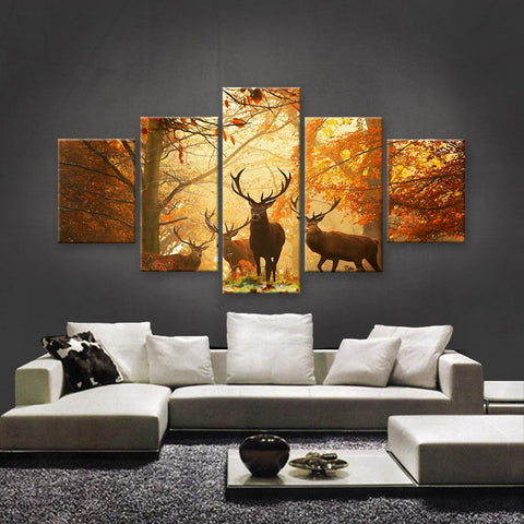 HD PRINTED LIMITED EDITION WILDLIFE CANVAS (WLC159009)