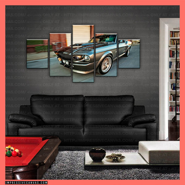 HD PRINTED LIMITED EDITION CAR CANVAS (ELEANOR) - (CARC160005)