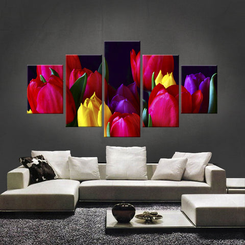 HD PRINTED LIMITED EDITION FLOWER CANVAS (FWC155007)