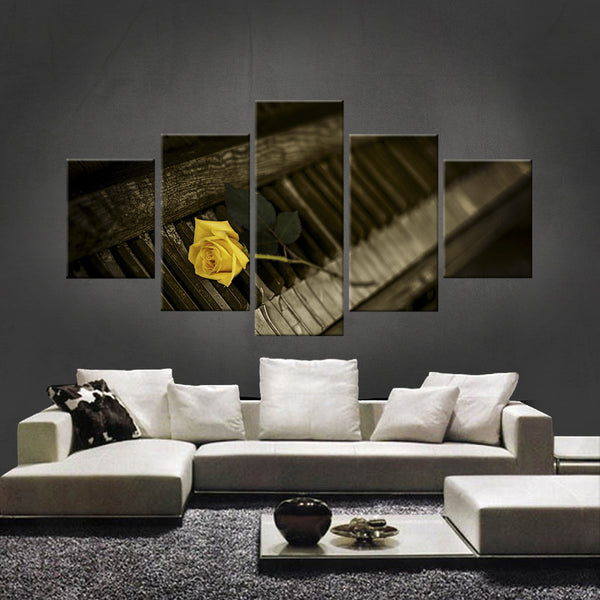 HD PRINTED LIMITED EDITION FLOWER CANVAS (FWC155006)