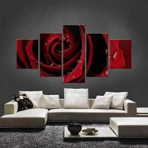 HD PRINTED LIMITED EDITION FLOWER CANVAS (FWC155008)