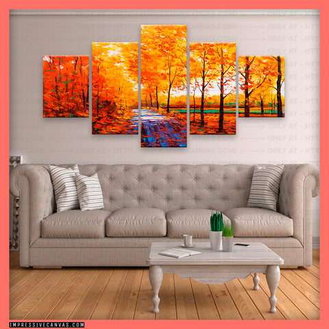 HD PRINTED LIMITED EDITION AUTUMN CANVAS (AUTUMN3421001)