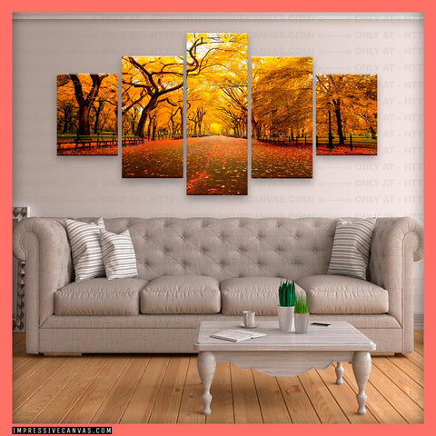 HD PRINTED LIMITED EDITION AUTUMN CANVAS (AUTUMN3421002)