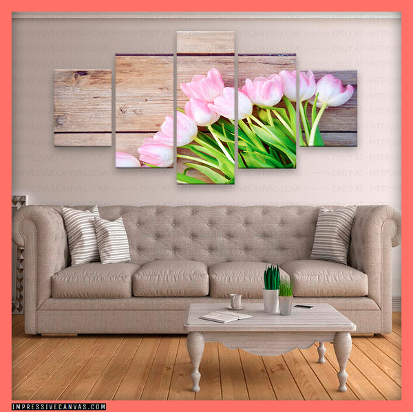 HD PRINTED LIMITED EDITION FLOWER CANVAS (FWC155024)